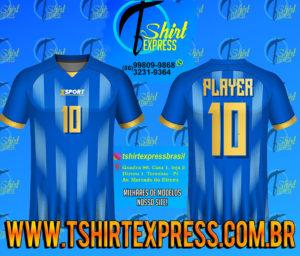 Camisa Esportiva Futebol Futsal Camiseta Uniforme (164)