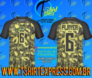 Camisa Esportiva Futebol Futsal Camiseta Uniforme (182)