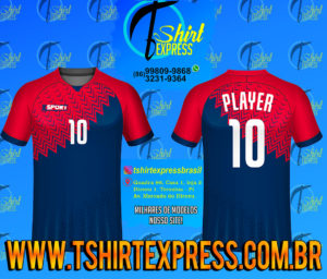 Camisa Esportiva Futebol Futsal Camiseta Uniforme (201)