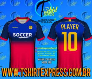 Camisa Esportiva Futebol Futsal Camiseta Uniforme (203)