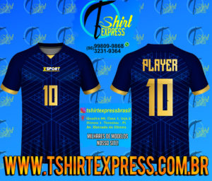 Camisa Esportiva Futebol Futsal Camiseta Uniforme (225)