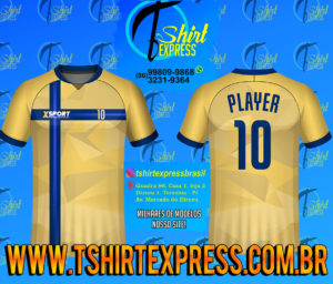 Camisa Esportiva Futebol Futsal Camiseta Uniforme (249)