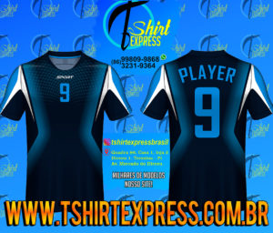 Camisa Esportiva Futebol Futsal Camiseta Uniforme (256)