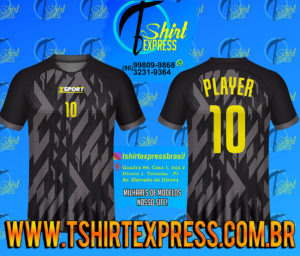 Camisa Esportiva Futebol Futsal Camiseta Uniforme (262)