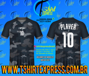 Camisa Esportiva Futebol Futsal Camiseta Uniforme (264)