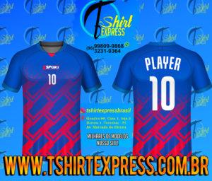 Camisa Esportiva Futebol Futsal Camiseta Uniforme (268)