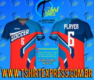 Camisa Esportiva Futebol Futsal Camiseta Uniforme (272)