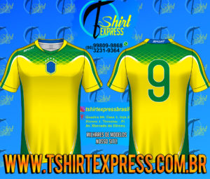 Camisa Esportiva Futebol Futsal Camiseta Uniforme (275)