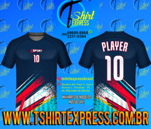 Camisa Esportiva Futebol Futsal Camiseta Uniforme (278)