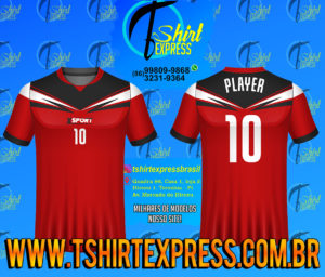 Camisa Esportiva Futebol Futsal Camiseta Uniforme (280)