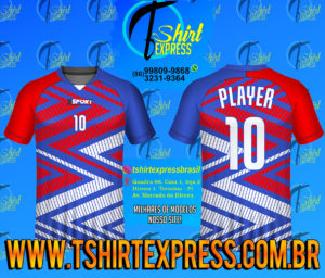 Camisa Esportiva Futebol Futsal Camiseta Uniforme (284)