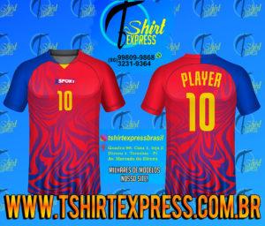Camisa Esportiva Futebol Futsal Camiseta Uniforme (288)
