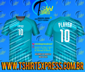Camisa Esportiva Futebol Futsal Camiseta Uniforme (291)