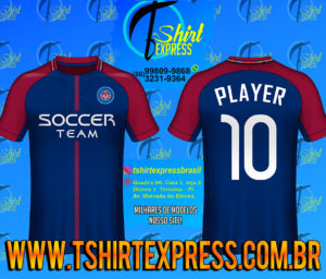 Camisa Esportiva Futebol Futsal Camiseta Uniforme (324)