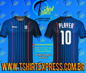 Camisa Esportiva Futebol Futsal Camiseta Uniforme (366)