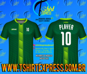 Camisa Esportiva Futebol Futsal Camiseta Uniforme (370)