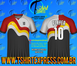 Camisa Esportiva Futebol Futsal Camiseta Uniforme (382)