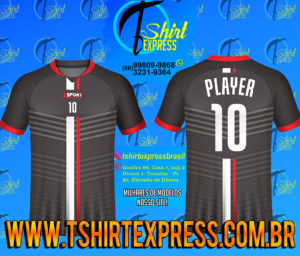 Camisa Esportiva Futebol Futsal Camiseta Uniforme (383)
