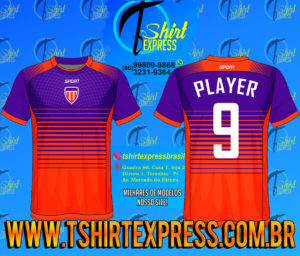 Camisa Esportiva Futebol Futsal Camiseta Uniforme (388)