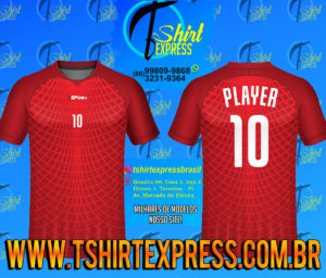 Camisa Esportiva Futebol Futsal Camiseta Uniforme (389)