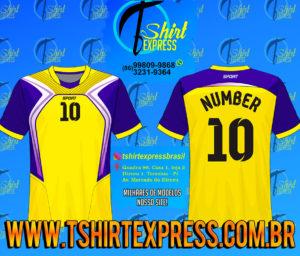 Camisa Esportiva Futebol Futsal Camiseta Uniforme (404)