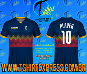 Camisa Esportiva Futebol Futsal Camiseta Uniforme (437)
