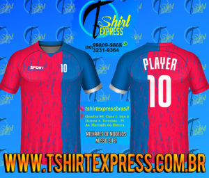 Camisa Esportiva Futebol Futsal Camiseta Uniforme (440)