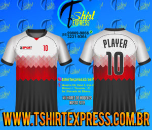 Camisa Esportiva Futebol Futsal Camiseta Uniforme (456)