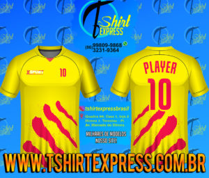 Camisa Esportiva Futebol Futsal Camiseta Uniforme (468)