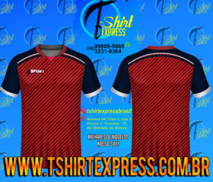 Camisa Esportiva Futebol Futsal Camiseta Uniforme (489)