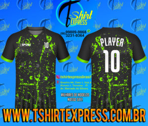 Camisa Esportiva Futebol Futsal Camiseta Uniforme (524)