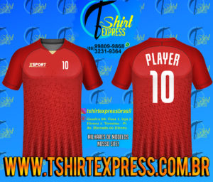 Camisa Esportiva Futebol Futsal Camiseta Uniforme (534)